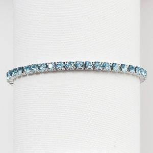 Swarovski March Birthstone Bracelet